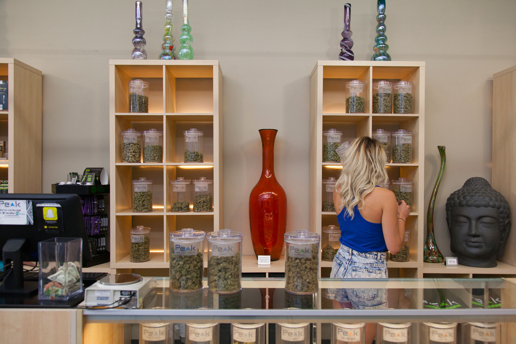 Denver pot shop with the most cannabis infused products and flower.